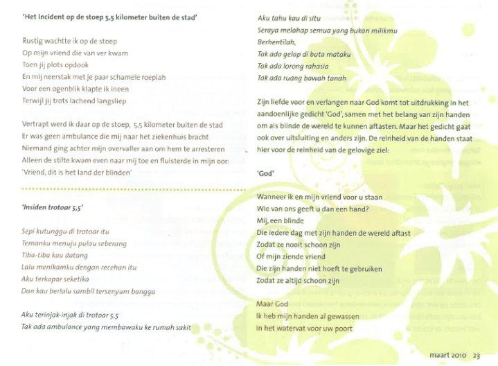 Antonius 2bc. tekst1 - Antonius Silalahi Poetry