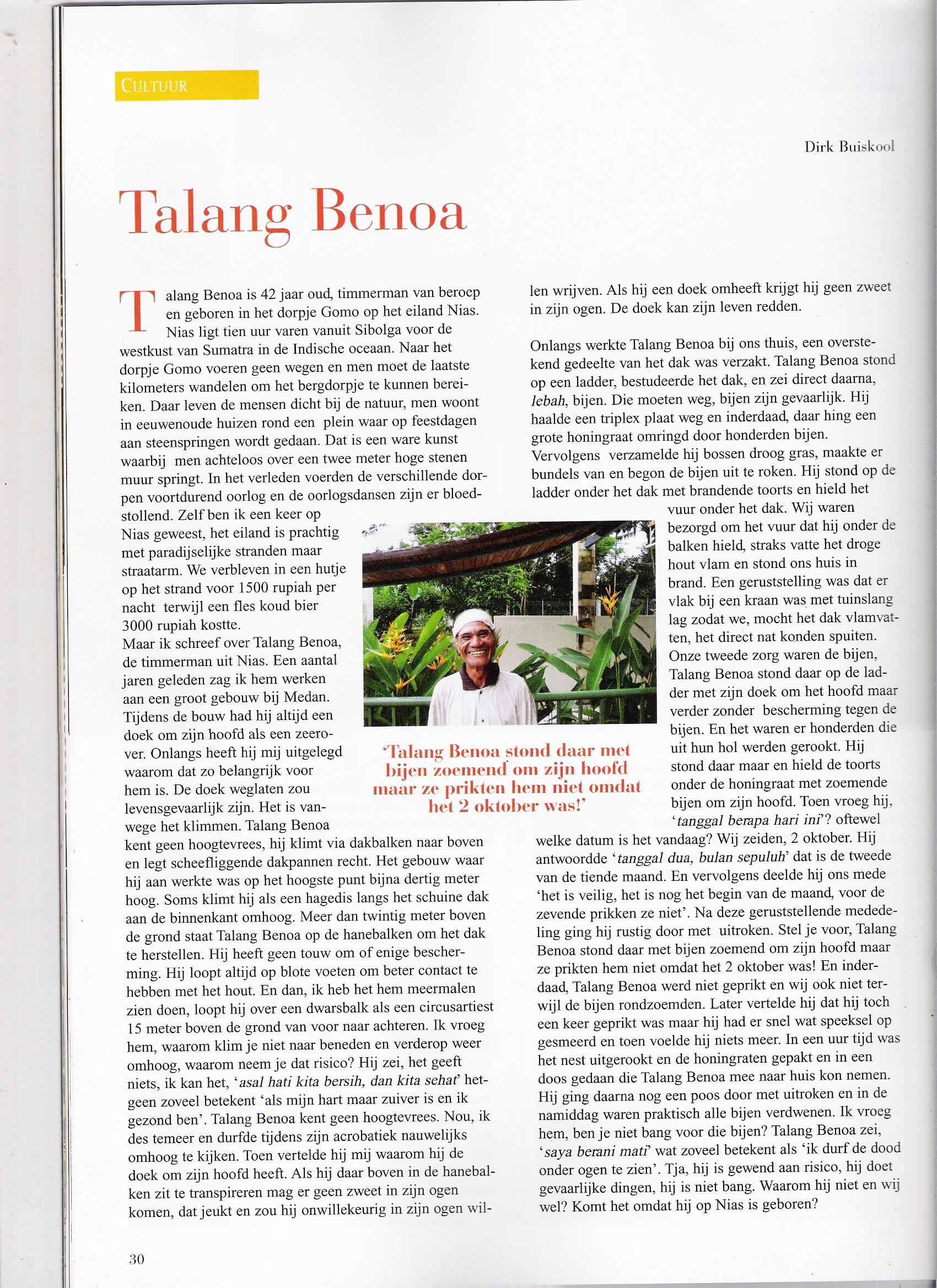 Talang Benoa - Talang Benoa