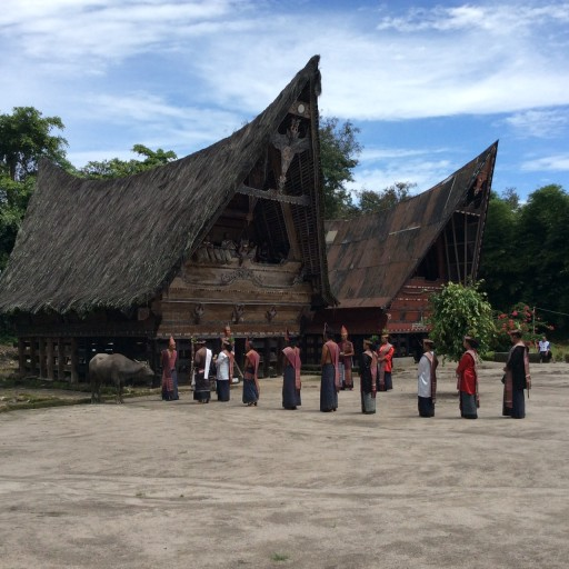 Traditional Batak House 512x512 - Traditional Batak House