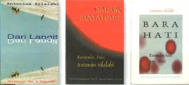 antonius book photo - Antonius Silalahi Poetry