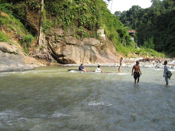 bohorok river - Bohorok