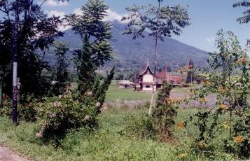 kota gadang adat house - Kota Gadang