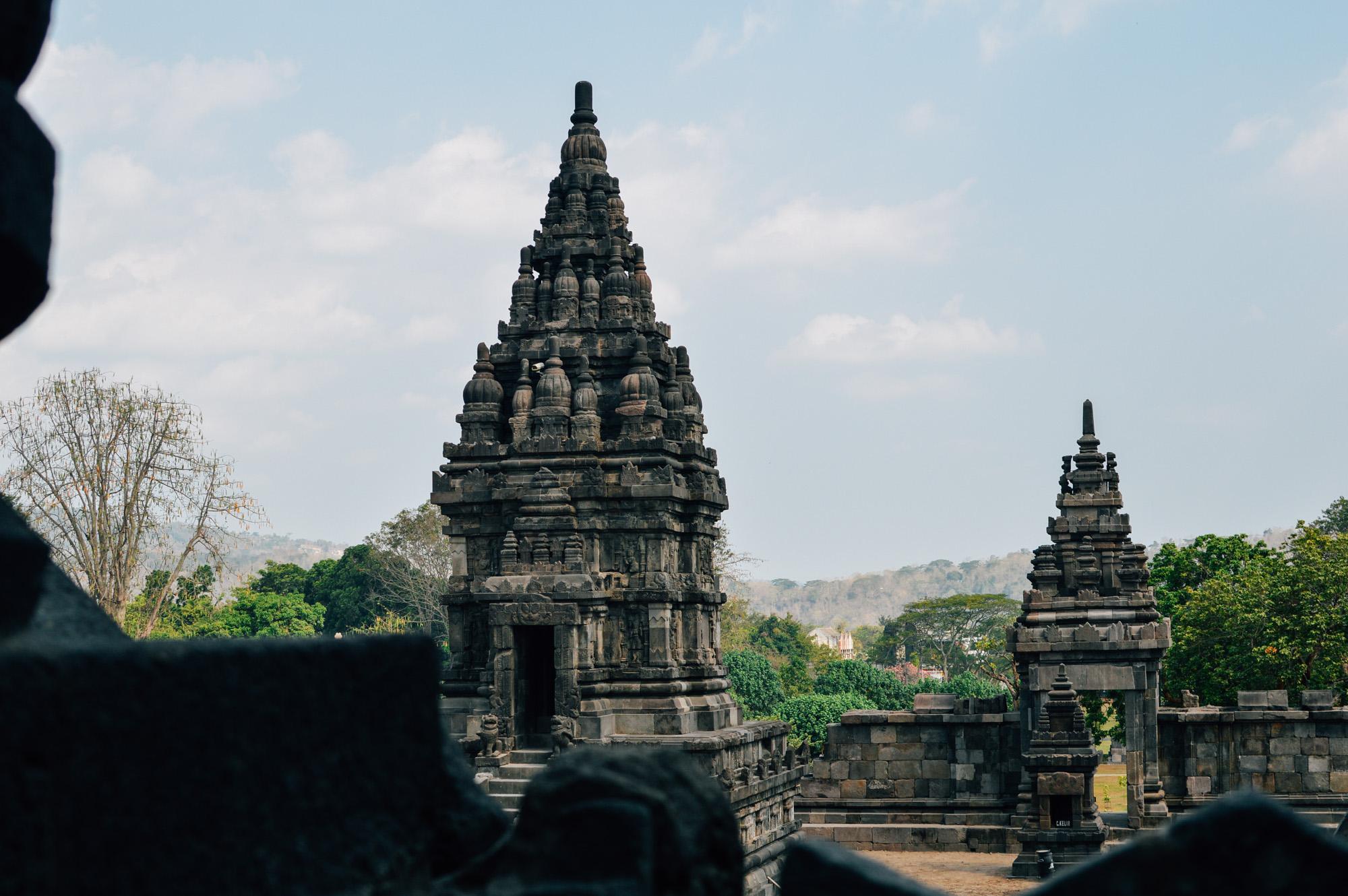 prambanan 2 - Jogyakarta with Temples
