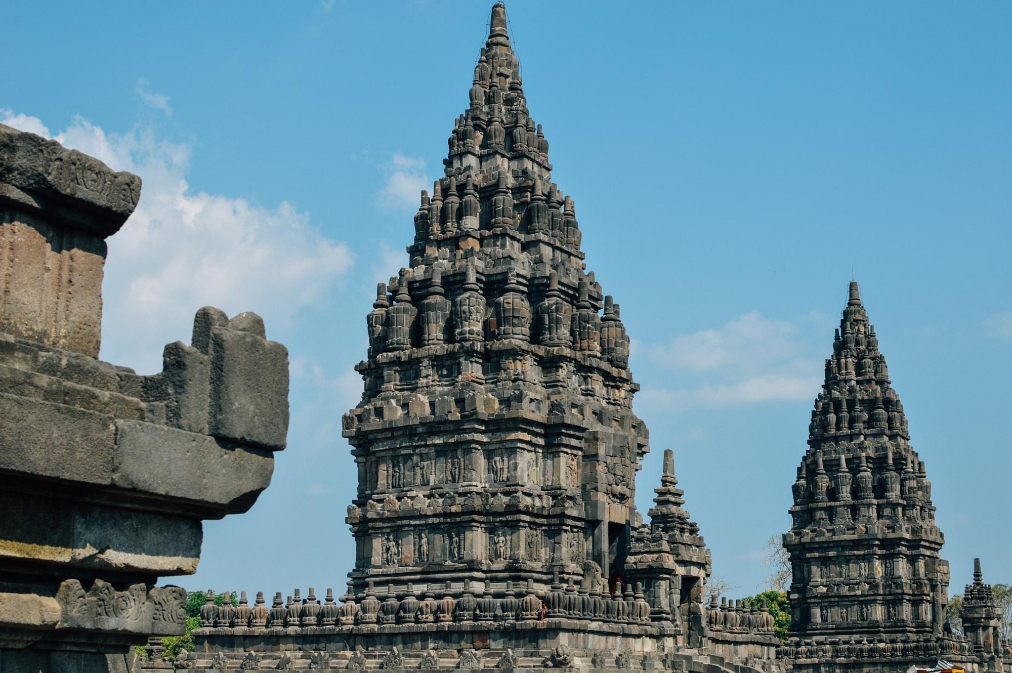 prambanan 3 - Jogyakarta with Temples