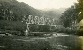 sawahlunto old photo bridge - Sawahlunto