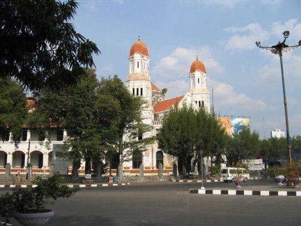 semarang former office of the railroad company1 - Surabaya and Semarang