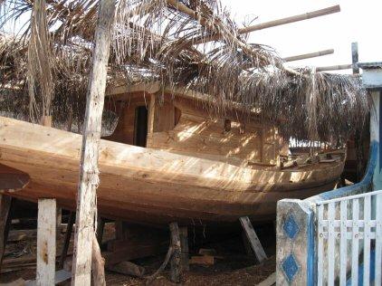 sulawesi buginese boat building - Makassar