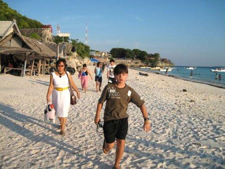sulawesi on the beach - Makassar