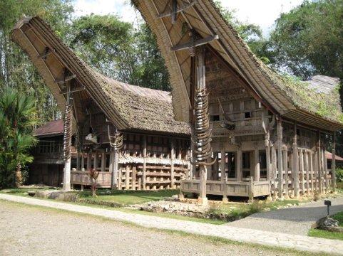 Sulawesi Toraja Houses
